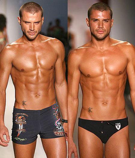 Фото гарних, майже голих, чоловіків 1