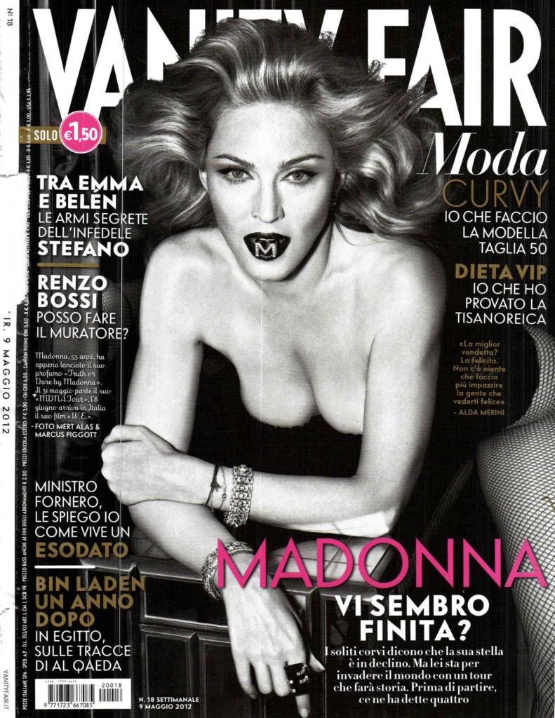 Мадонна знялася в провокаційній фотосесії для Vanity Fair