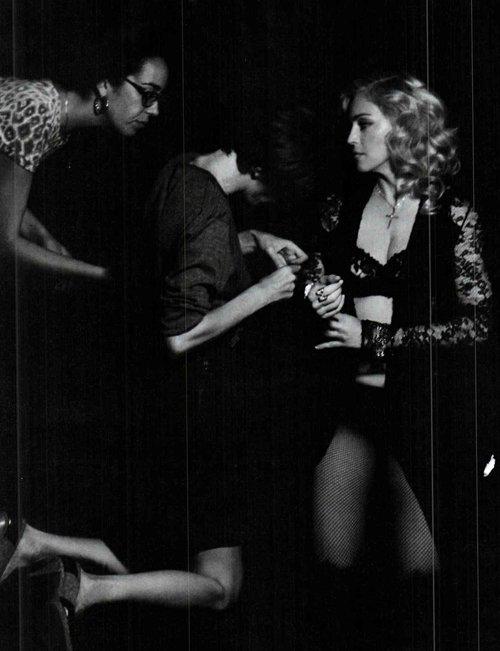 Мадонна для Vanity Fair